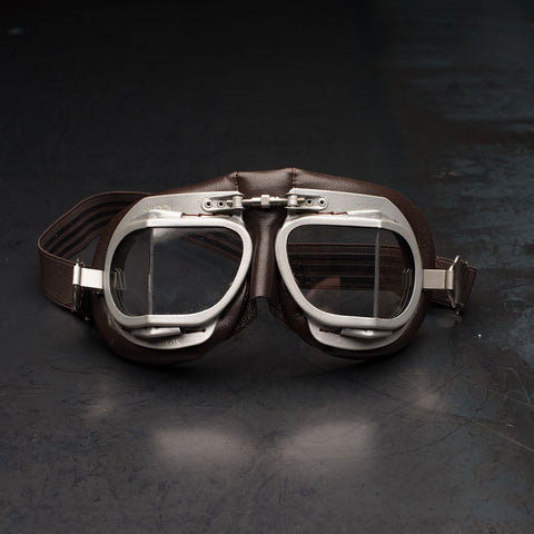 Halcyon Mark 9 Goggles Vintage Brown