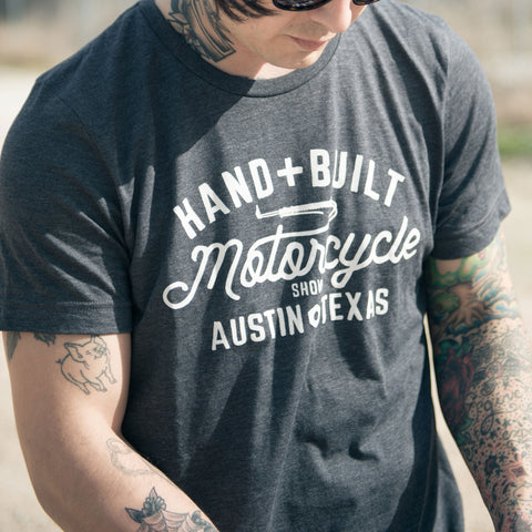 Handbuilt Motorcycle Show Shirt - Grey - Revival Cycles