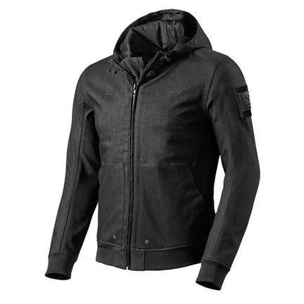 REV'IT! Hoody Stealth - Black - Revival Cycles