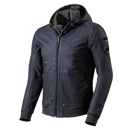 REV'IT! Hoody Stealth - Dark Blue - Revival Cycles