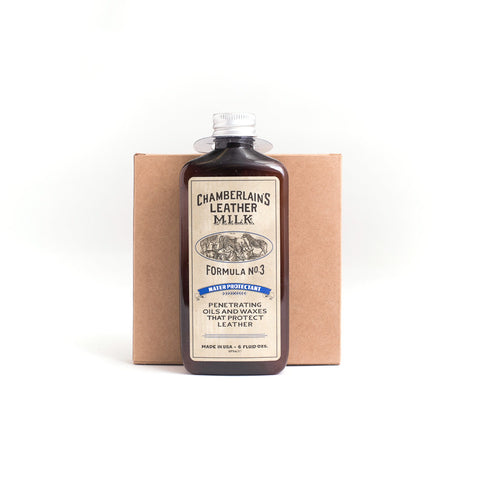 Chamberlain's Leather Milk Formula 3 Water Protectant