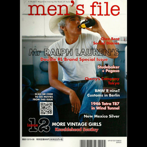 Men's File Magazine Issue 12 Cover