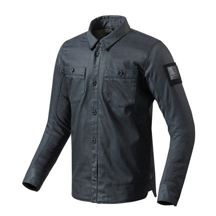 Overshirt Tracer - Dark Blue - Revival Cycles