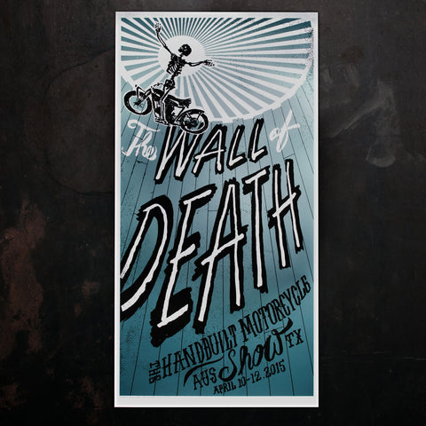 Wall of Death REDUX Poster - Revival Cycles