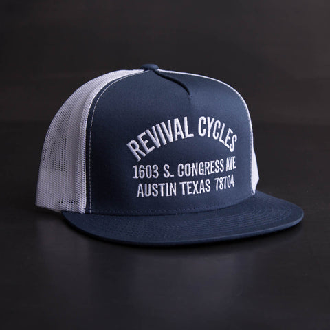 Revival Cycles Anchor Trucker Hat
