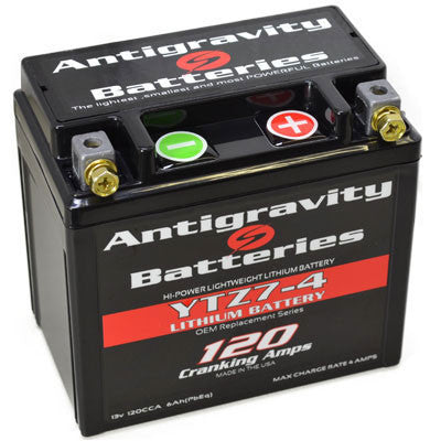 Lightweight and powerful, the Antigravity OEM-size batteries are a clear upgrade from lead-acid batteries.