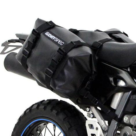 DrySpec D20 Waterproof Motorcycle Drybag Saddlebags System - Revival Cycles