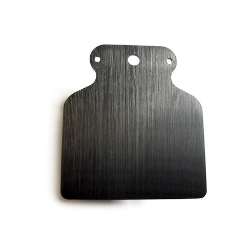 Motogadget Motoscope Mini Mounting Bracket A in black anodized finish.