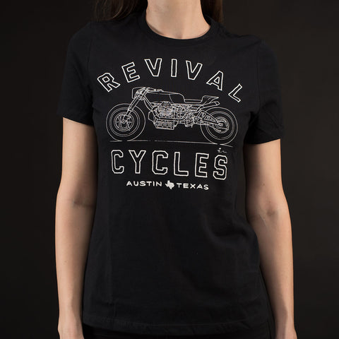 Women's Revival Cycles Beto Short Sleeve T-Shirt