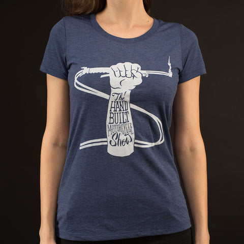 Women's Blueline Handbuilt Show Fist T-Shirt