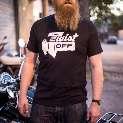 The Twist Off Throttle T-Shirt - Revival Cycles