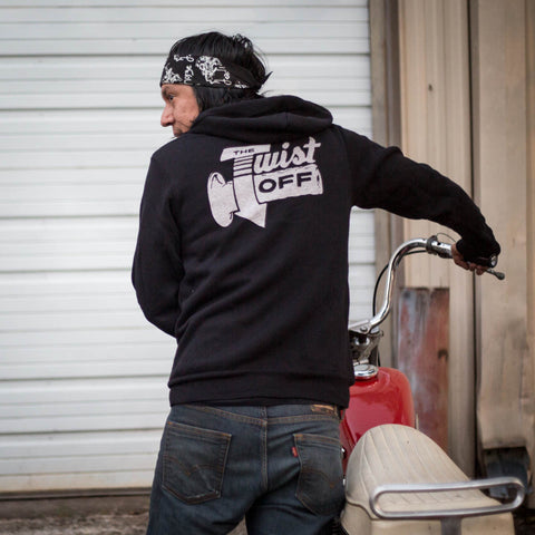 The Twist Off Throttle Hoodie - Revival Cycles