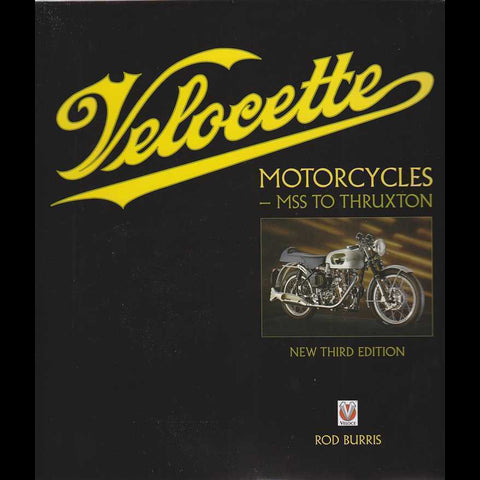 Velocette Motorcycles Book Cover