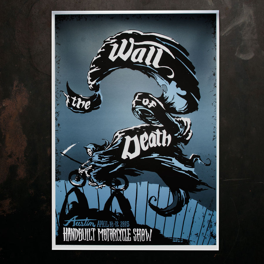 Wall of Death Poster 2015