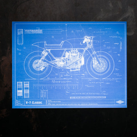 Wright Blueprint Poster