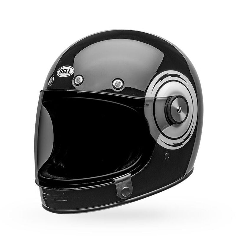 Bullitt - Bolt Gloss Black/White Helmet