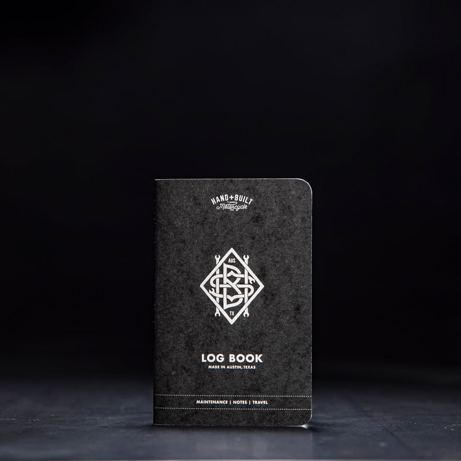 Handbuilt Show Adventure Log Book - Black