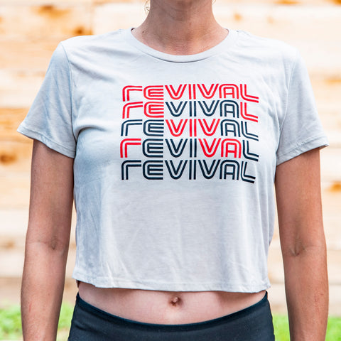 Women's Viva Real Evil Crop T-Shirt