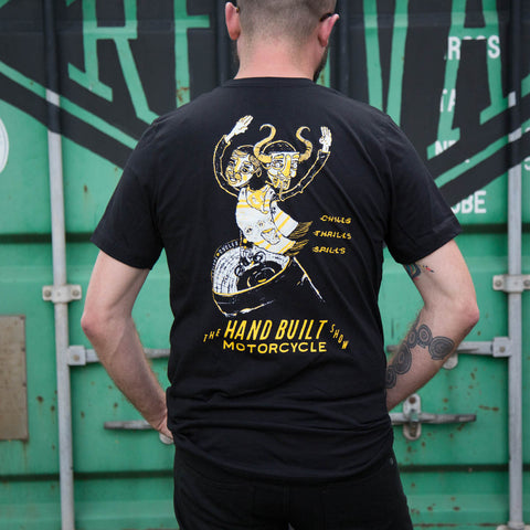 Handbuilt Show 2017 Wall of Death T-Shirt