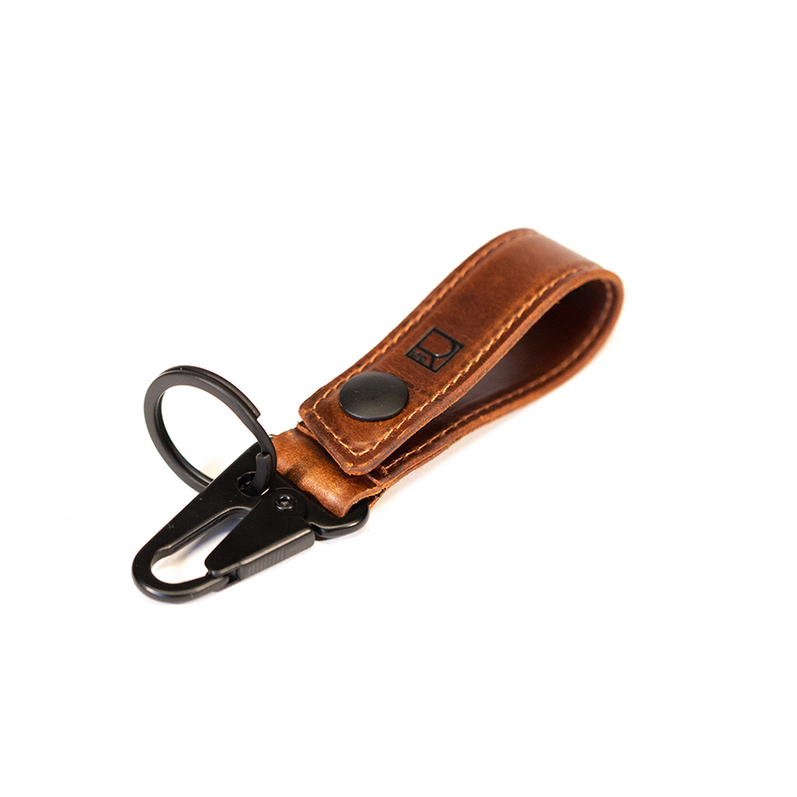 Ignition Clip Key Carry in Mahogany