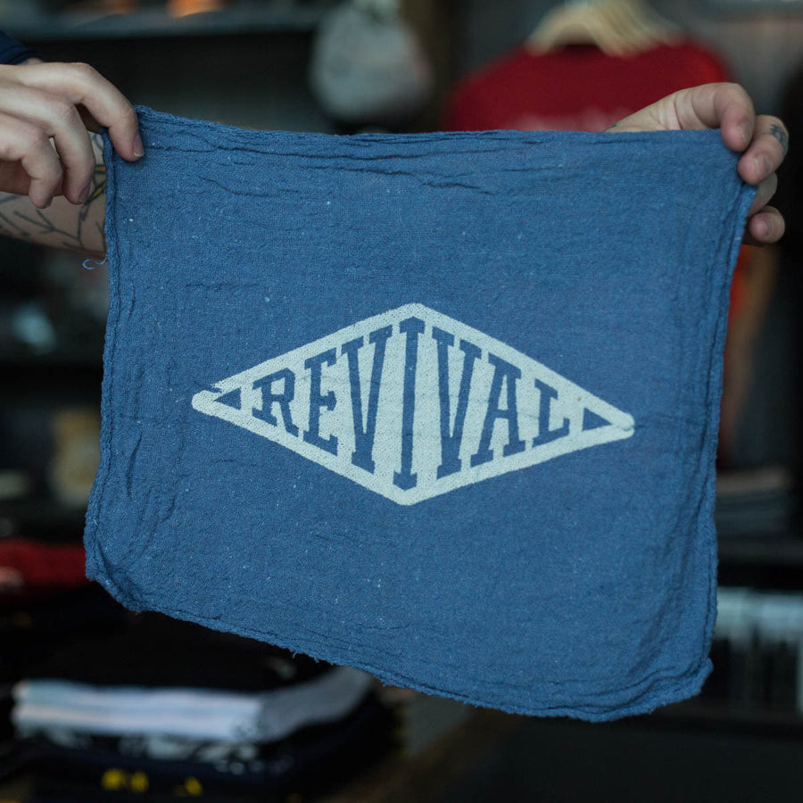Revival Cycles Shop Rag