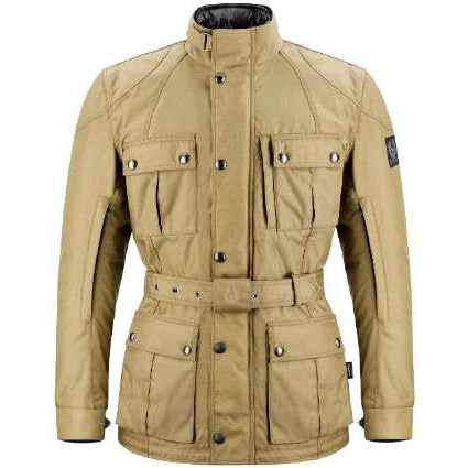 Revival Cycles - Belstaff Snaefell Motorcycle Jacket - Hand Waxed Cordura - Khaki