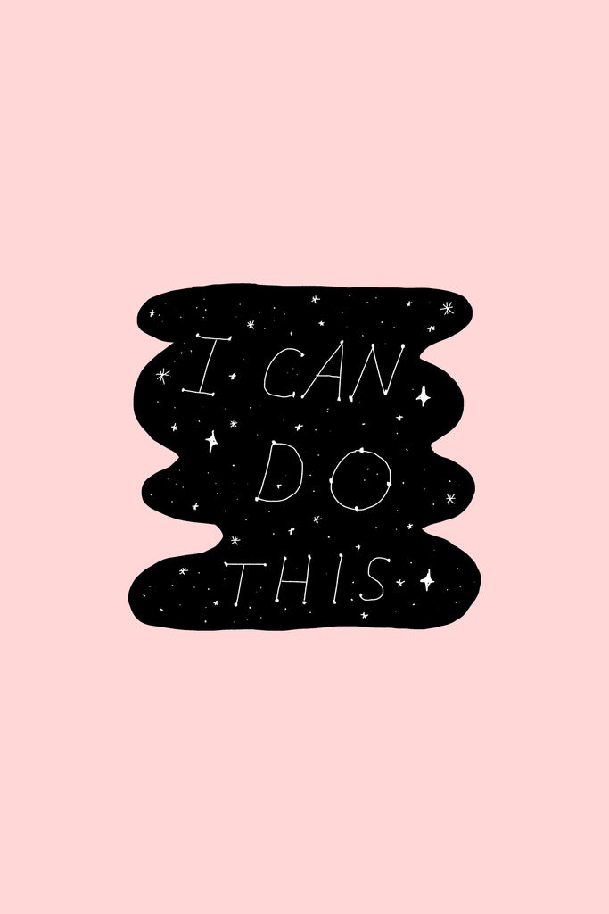 I can do this! Sticker