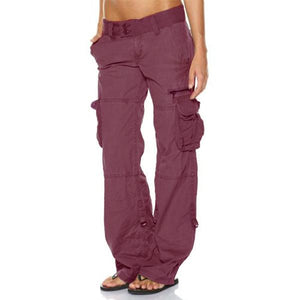 Cross-functional Casual Baggy Multi-Pocket Cargo Pants