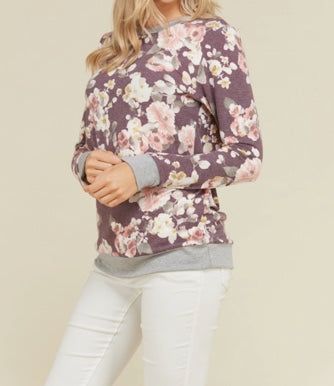Floral Pullover Sweater