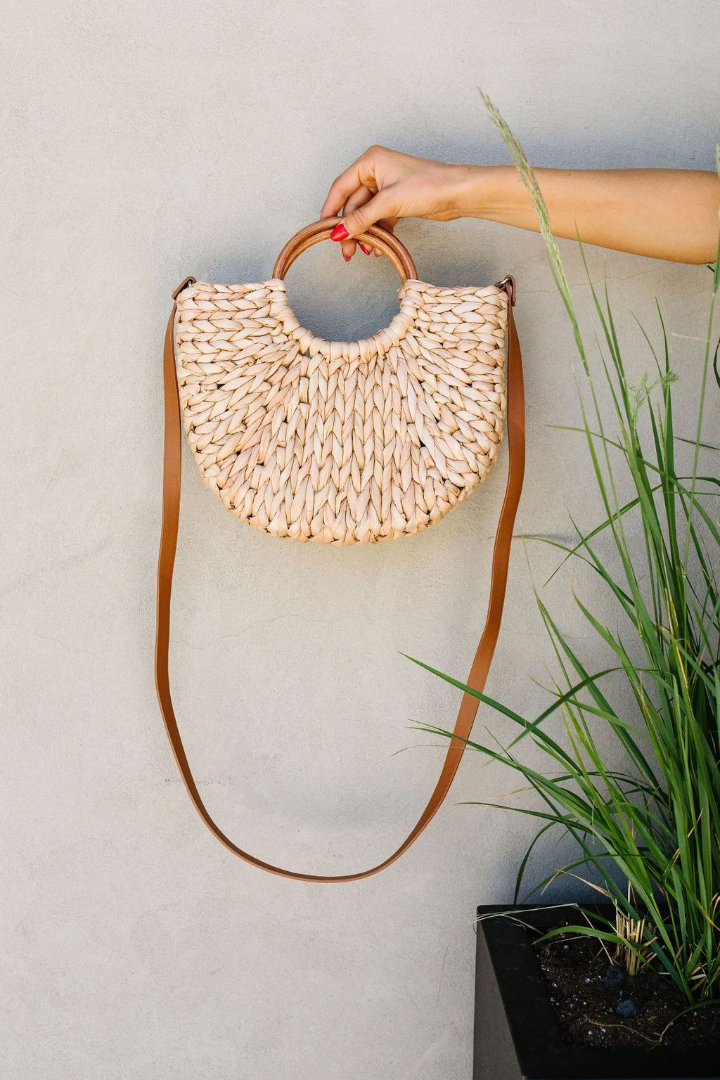 Final Straw Braided Bag