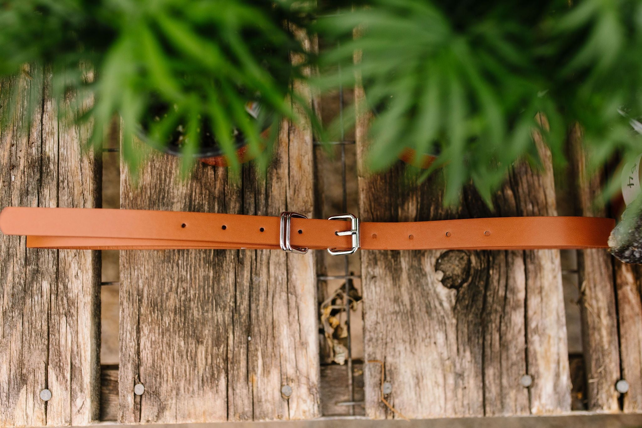 Finishing Touch Belt In Cognac