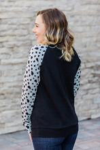 Heart Sleeve Pullover