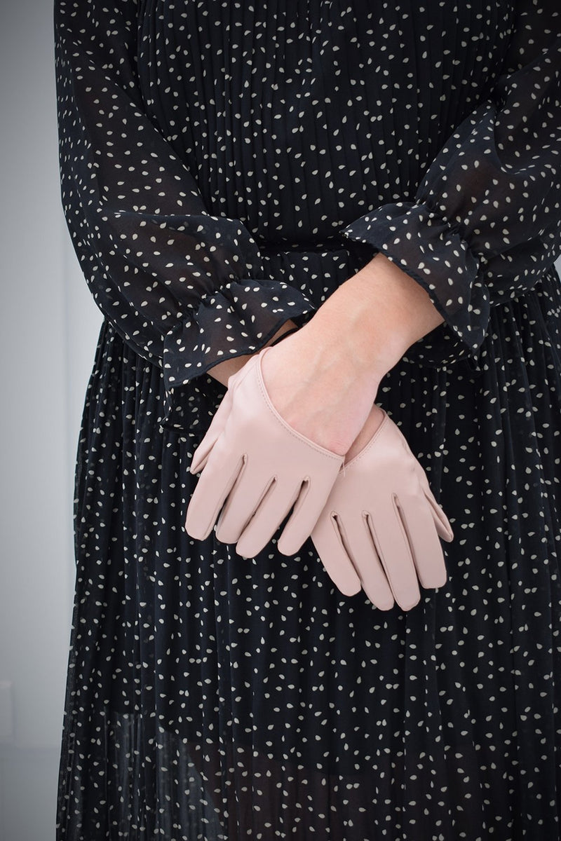 Small pink gloves