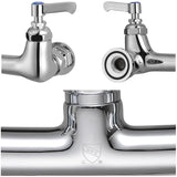 Aquaterior Kitchen Pre-Rinse Commercial Style Faucet Pull Out