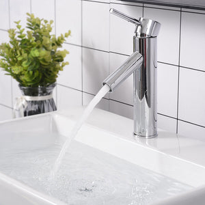 "Aquaterior Single-Hole Faucet Chrome 1-Handle 9""H"