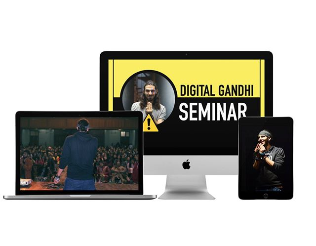 Digital Gandhi Motivational Seminar  Digital...