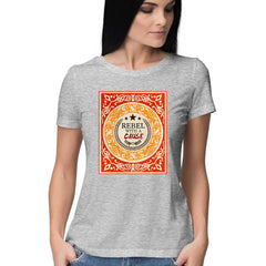 Rebel T Shirt for Women / Digital Gandhi