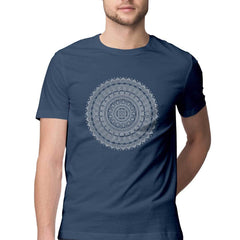 Mandala T shirt for Men by Digital Gandhi