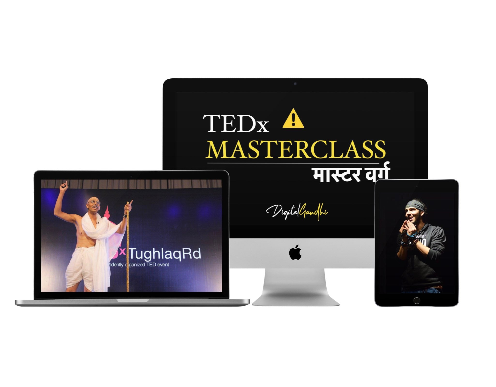 TEDx Masterclass by Digital Gandhi