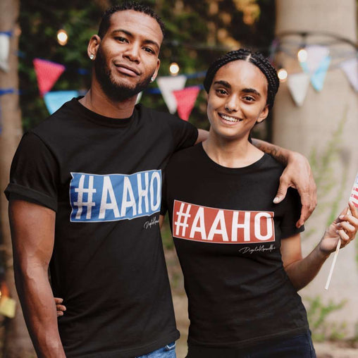 AAHO Tee shirt - Good Network by Digital Gandhi