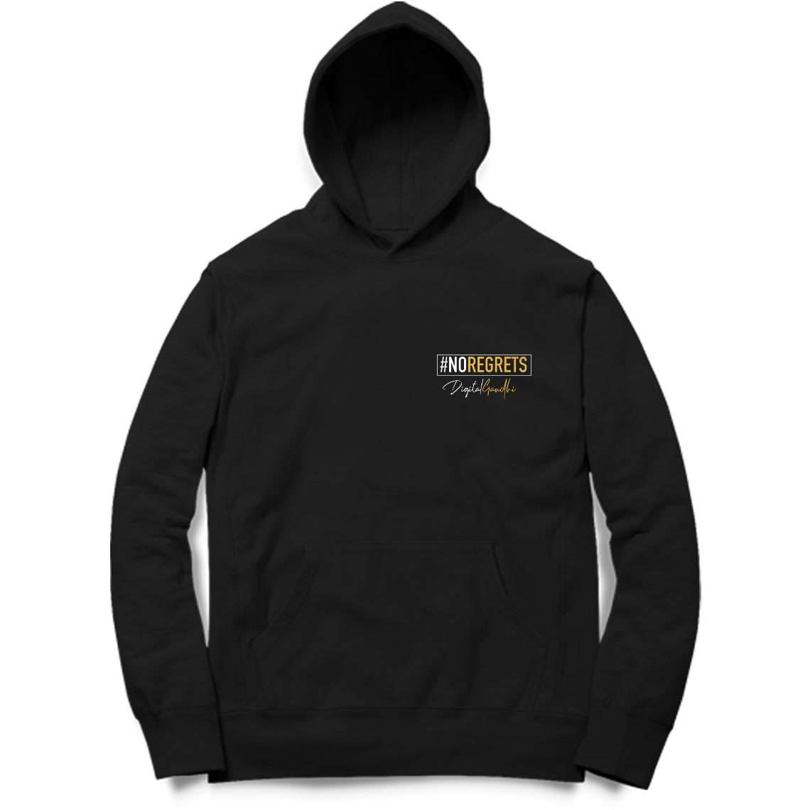 No Regrets Special Hoodie by Digital Gandhi - Good Network by Digital Gandhi Digital Gandhi ,