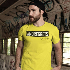 No Regrets T Shirt for MEN by Digital Gandhi - goodnetwor - Clothing - Printrove