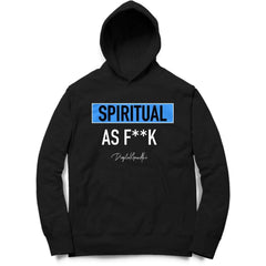 Spiritual as F**K Hoodie by Digital Gandhi - Good Network by Digital Gandhi Digital Gandhi ,