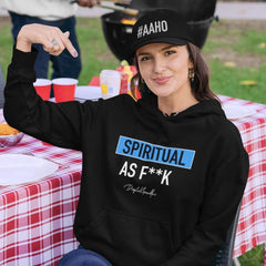 Spiritual as F**K Hoodie / Digital Gandhi - Good Network by Digital Gandhi Digital Gandhi ,