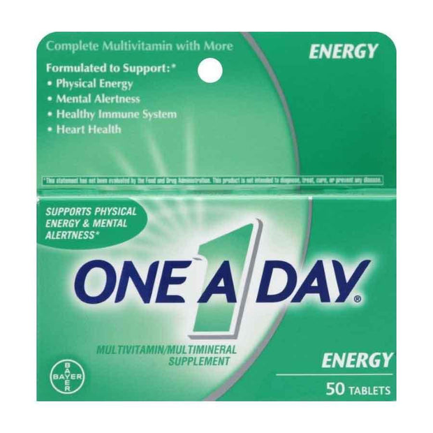 One-A-Day Energy Multivitamin/Multimineral Tablets
