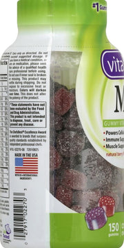 Vitafusion Men's Multivitamin Gummies Berry 150 ct
