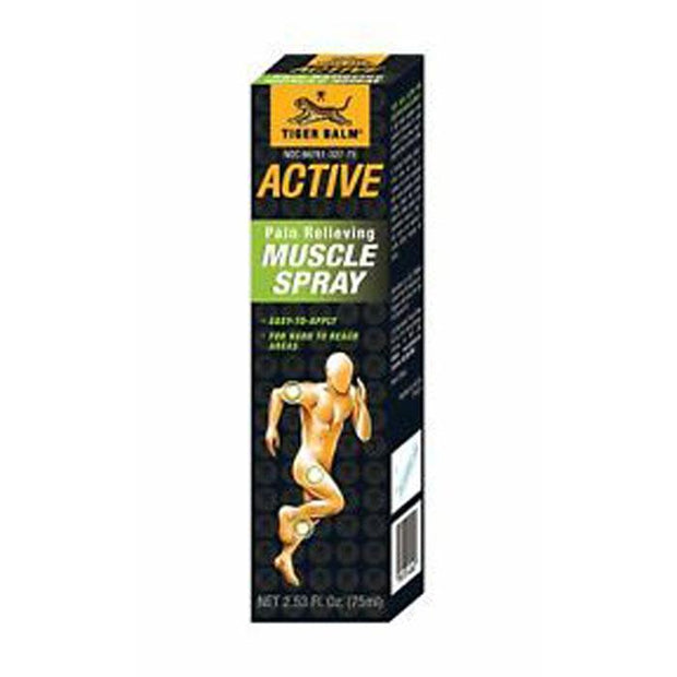 Tiger Balm Active Pain Relief Muscle Spray