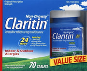 Claritin 24 Hour Allergy Relief 10mg Tablets