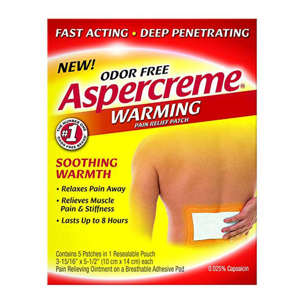 Aspercreme Warming Pain Relief Patch