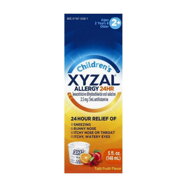 Xyzal Children's 24 Hour Allergy Relief Tutti Frutti Liquid